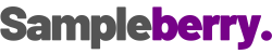 sampleberry logo